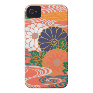 Colorful Kimono Pattern iPhone 4\4s Case