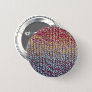 Colorful Knit 2 Inch Round Button