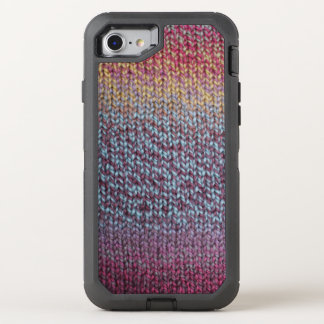 Colorful Knit OtterBox Defender iPhone 8/7 Case