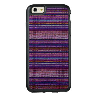 Colorful Knitted Pattern OtterBox iPhone 6/6s Plus Case
