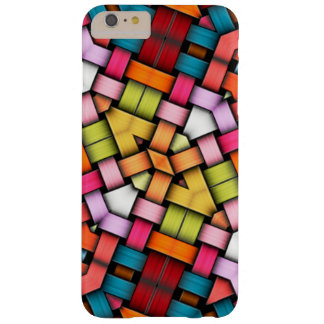 Colorful knitted texture barely there iPhone 6 plus case