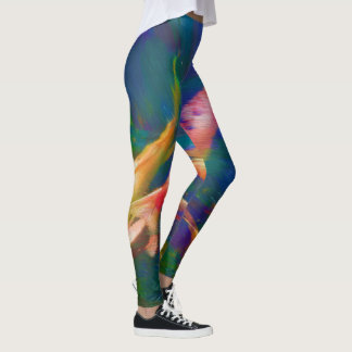 Colorful Koi Fish Leggings