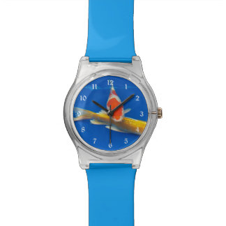 Colorful Koi Photo Watch