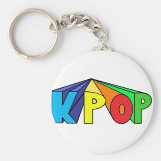 Colorful KPOP 3D Keychain