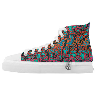 Colorful Labyrinth♥ High Tops