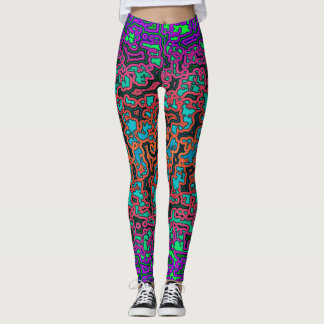 Colorful Labyrinth♥ Leggings