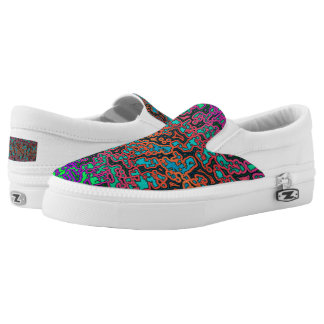 Colorful Labyrinth♥ Slip-On Sneakers