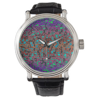 Colorful Labyrinth♥ Watch