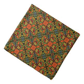 Colorful Ladybug Pattern Polka Dots Flowers Bandana