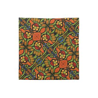 Colorful Ladybug Pattern Polka Dots Flowers Napkin
