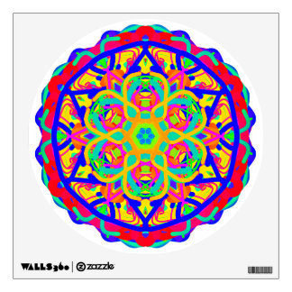 Colorful Lancaster Mandala Wall Decal