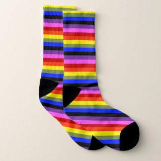 Colorful Large All-Over-Print Socks 1