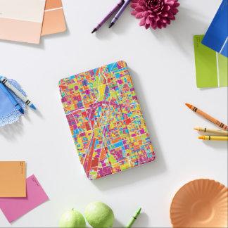 Colorful Las Vegas, Nevada Map iPad Mini Cover