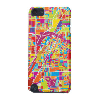 Colorful Las Vegas, Nevada Map iPod Touch (5th Generation) Cover