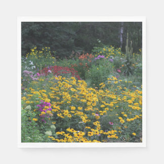 Colorful Late August Gardens! Paper Napkin