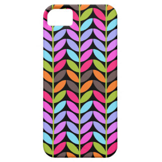 Colorful Leaf Pattern Design iPhone 5 Cover