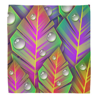 Colorful  leaves bandannas