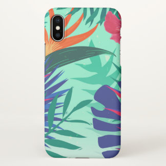 Colorful Leaves Custom iPhone X Matte Case