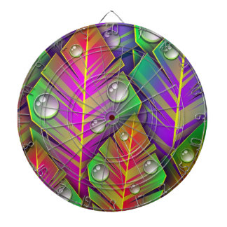 Colorful  leaves dartboard