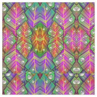 Colorful  leaves fabric