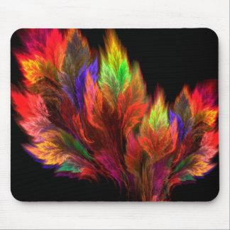 Colorful Leaves Mousepad