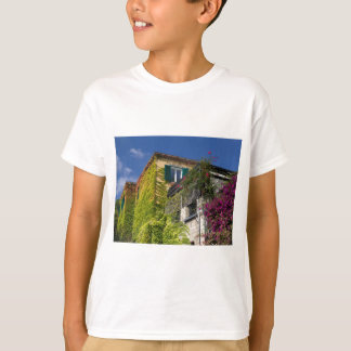 Colorful leaves on house T-Shirt