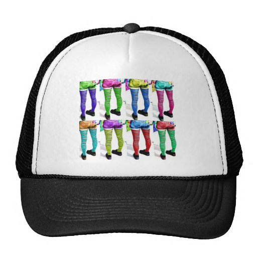Colorful Legs Hats
