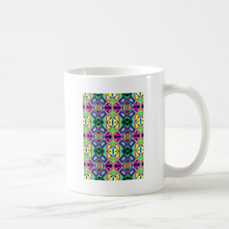 Colorful Lemon Lime Pattern Coffee Mug