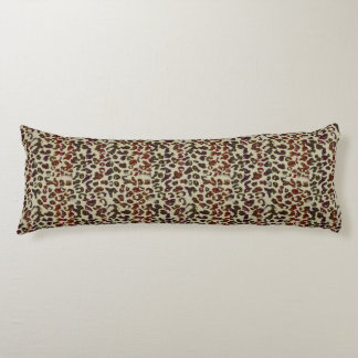 Colorful Leopard Print Body Pillow