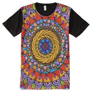 Colorful Life Journey Mandala Indie Art