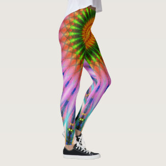 Colorful Light Explosion Leggings