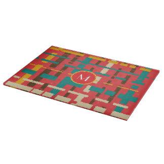 Colorful line segments boards