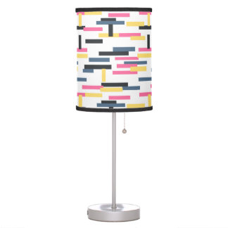 Colorful Lines Seamless Pattern, Modern Desk Lamps