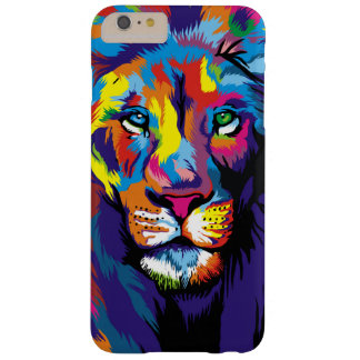 Colorful lion barely there iPhone 6 plus case