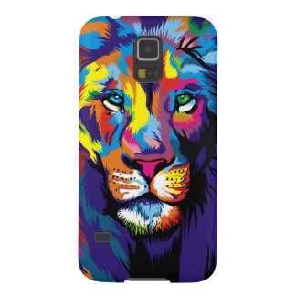 Colorful lion cases for galaxy s5