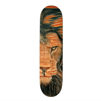 Colorful Lion Custom Zero Element Pro Banger Board Skate Deck