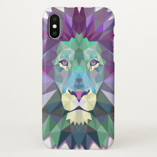 Colorful Lion iPhone X Case