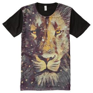 Colorful Lion Sacred Art All-Over-Print T-Shirt