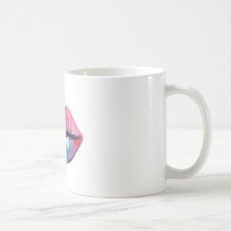 Colorful Lip Art Coffee Mug
