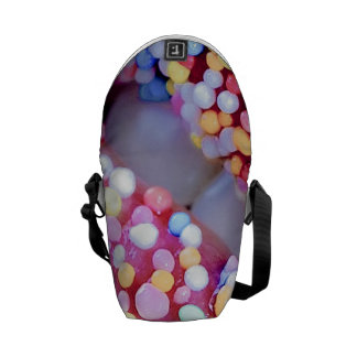 Colorful Lips Messenger Bag