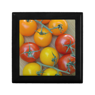 Colorful little tomatoes jewelry boxes