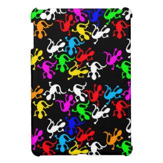 Colorful lizards pattern iPad mini cases