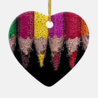 Colorful Logo Ceramic Ornament