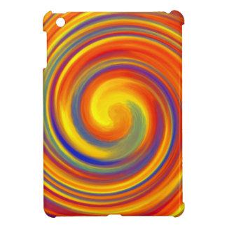 Colorful Lollipop Whirl Wind iPad Mini Case Cover