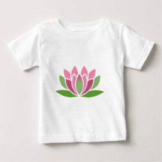 Colorful Lotus Zen Flower Baby T-Shirt