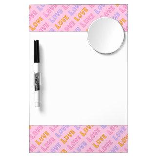 Colorful Love: Dry Erase Board