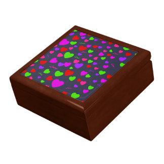 Colorful Love & Hearts Gift Box