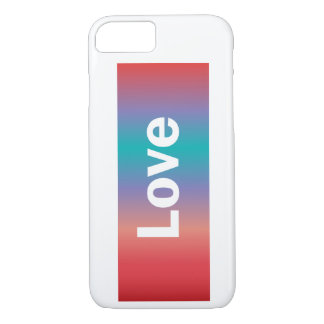 Colorful Love iPhone 8/7 Case