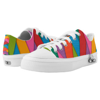 Colorful Low-Top Sneakers