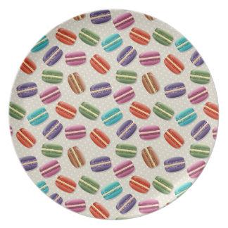 Colorful Macaron Plate